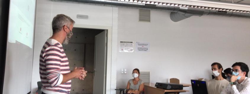 Realitat virtual al campus Bellvitge Nou hospital evangelic Abel Gelabert i Miriam Herrera